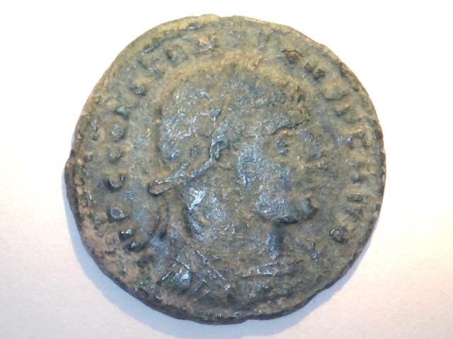 AE2 de Constantino I Magno. MARTI CONSERVATORI. Ceca Roma. Image