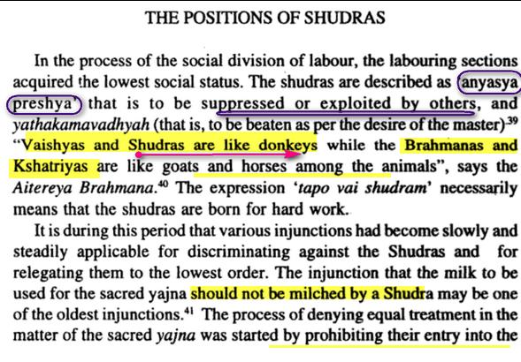 système de caste Racisme:Shudra Image