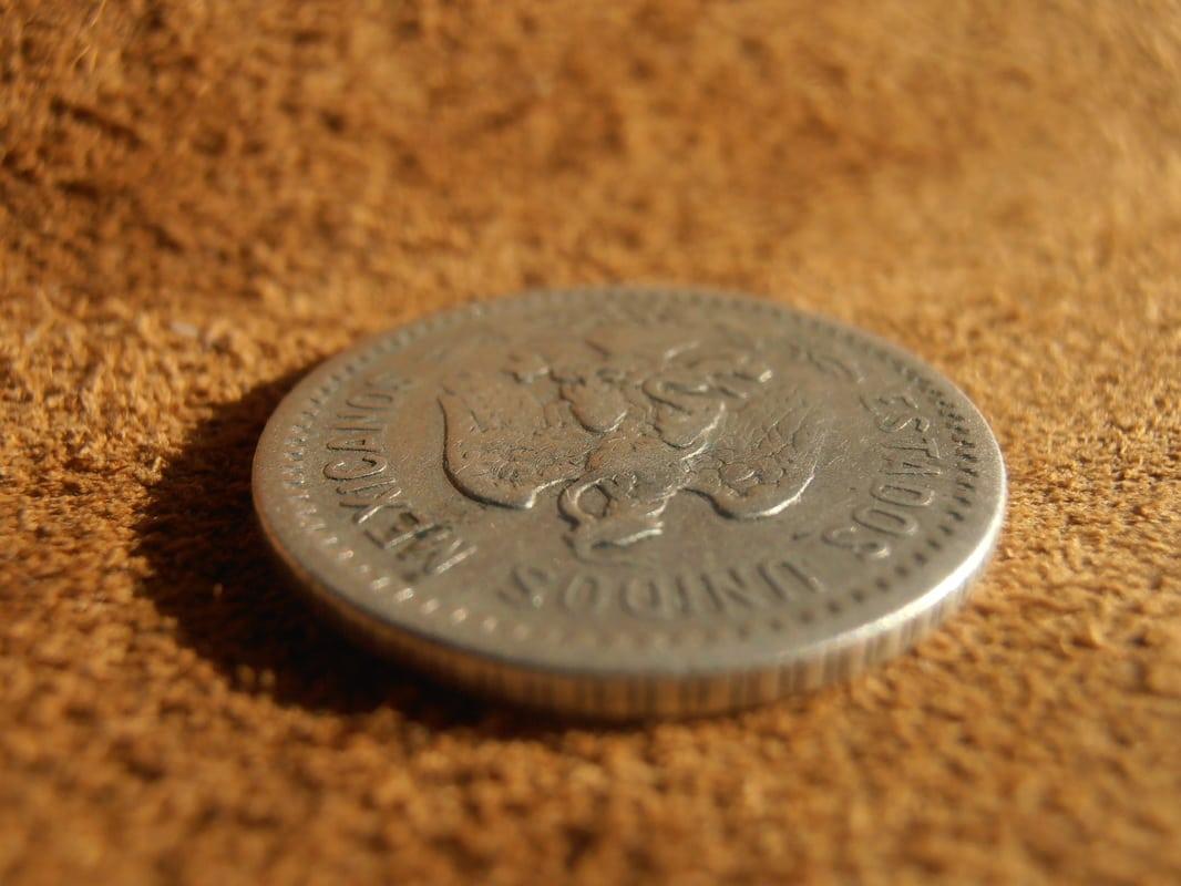 20 centavos resplandor México de 1907 P2270007