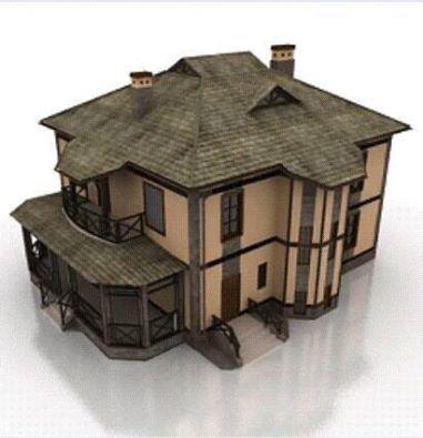 [Modelo] Casa de madeira (por Antonio Giles) 13533291_109607669471367_2687424624226507125_n