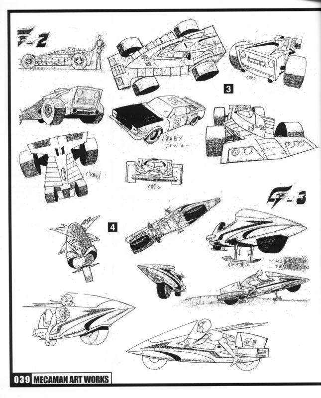 Mitsuki Nakamura Sketches (Gatchaman A.K.A. Battle of the Planets) 03
