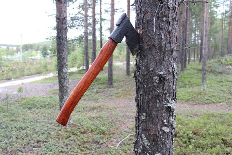 Вторая жизнь финского топора. 011