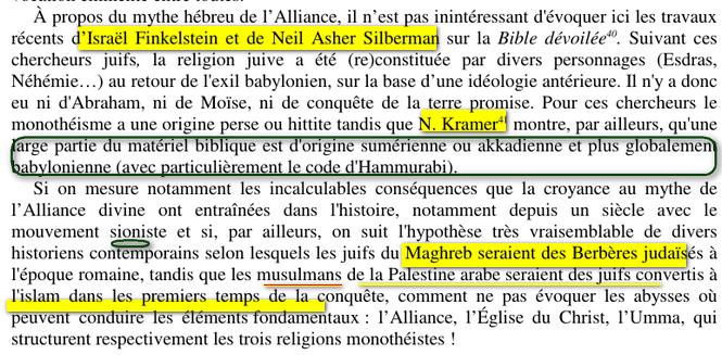 Judaisme et Invention du Racisme Culturel Image