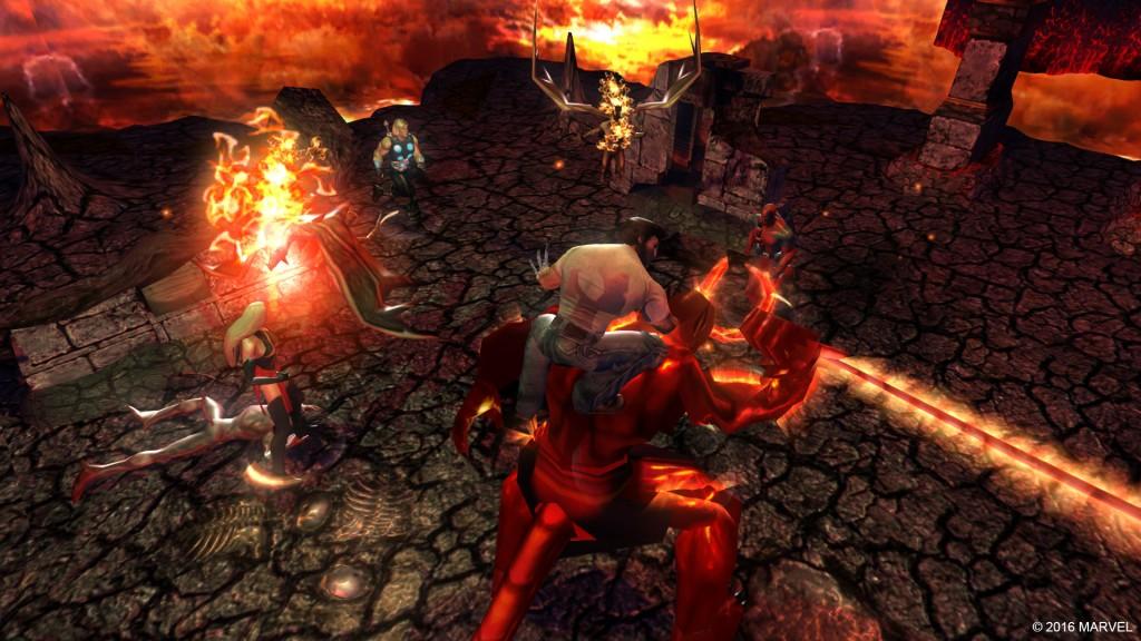 [جديد] تحميل لعبة الأكشن الرائعة Marvel Ultimate Alliance للــ PC على أكثر من سيرفر Iyuiyui