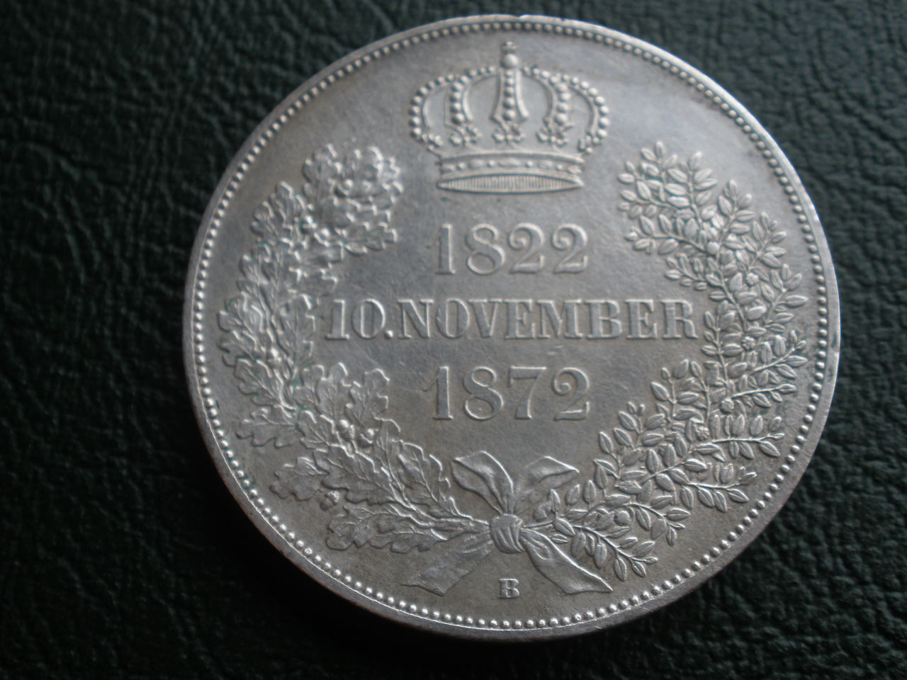 Doble táler 1872 Sachsen P1010212