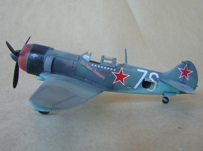 Lavočkin La-5FN, KP, 1/72 i Zvezda rebuild, 1/72 DSC01960