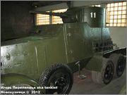 Советский средний бронеавтомобиль БА-3, Танковый музей, Кубинка 6_018