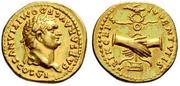 Aureo romano Domiciano Domiciano_II
