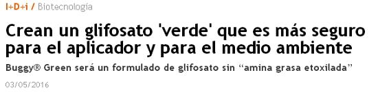 GLIFOSATO PROHIBIRLO Glifosato_verde