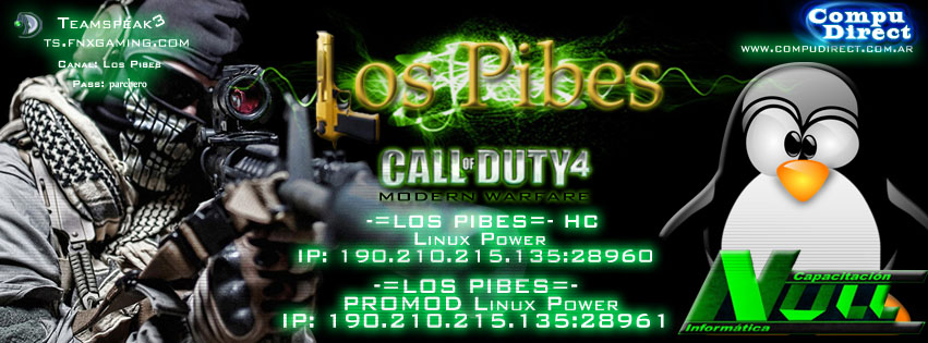Los Pibes COD - Servers Linux Argentino