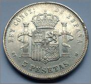 5 pesetas 1888 (18-88). MPM. Alfonso XIII  5_pesetas_Alfonso_XIII_1888_2