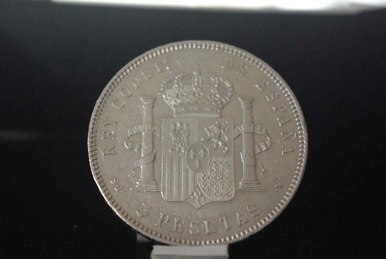 5 Pesetas Alfonso XIII 1897 SGV IMGP2846