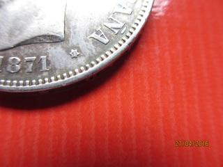 5 pesetas Amadeo I 1871 (*71) variante base columna corta 5_pesetas_Amadeo_I_1871_2