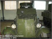Советский средний бронеавтомобиль БА-3, Танковый музей, Кубинка 6_030