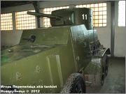 Советский средний бронеавтомобиль БА-3, Танковый музей, Кубинка 6_003