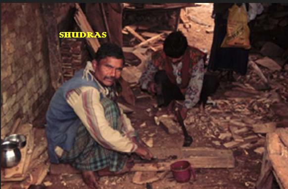 système de caste Racisme:Shudra DSFDFFVGFV
