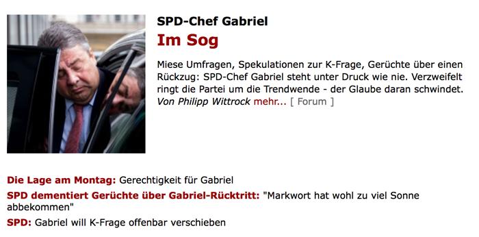 Umfrage / Vorerklärung: Wer wird SPD-Kanzlerkandidat? Gabriel_01