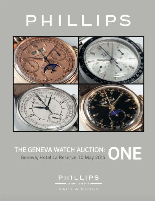 Catálogos - Phillips The Geneva Watch Auction: One / Two / Three The_Geneva_Watch_Auction_ONE
