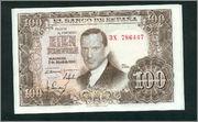100 Pesetas, 1953 (Pareja Para los amantes de las últimas Series 3X ) Scan_161270011