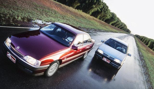 Fiat Brasile 40 anni (1976-2016) - Pagina 5 Tempra_x_Omega_1