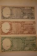 2,5 , 5 y 10 Pesetas Generalitat de Catalunya, 1936  DSC_0094