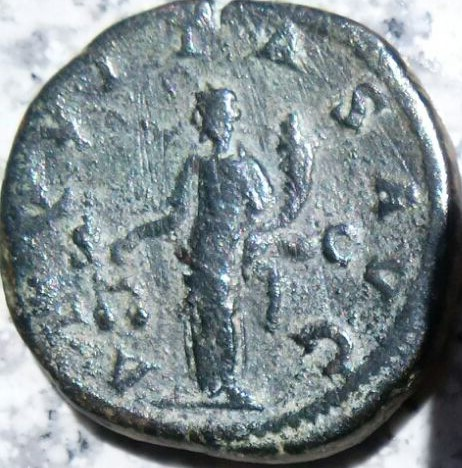 Sestercio de Gordiano III Pío. AEQVITAS AVG - S C. Ceca Roma. 3546b4b5_8935_47ad_bad5_34c6d572fa87_2