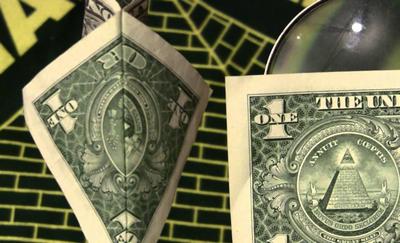 Dollar Américain symbole Maçonnique Sioniste ( Achkénazim) 400