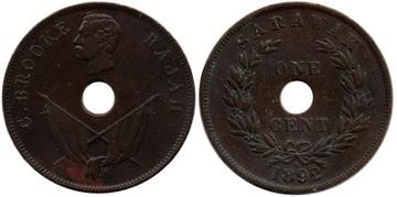 SARAWAK - 1 Cent 1892 Sarawak_7_1_Cent_1892