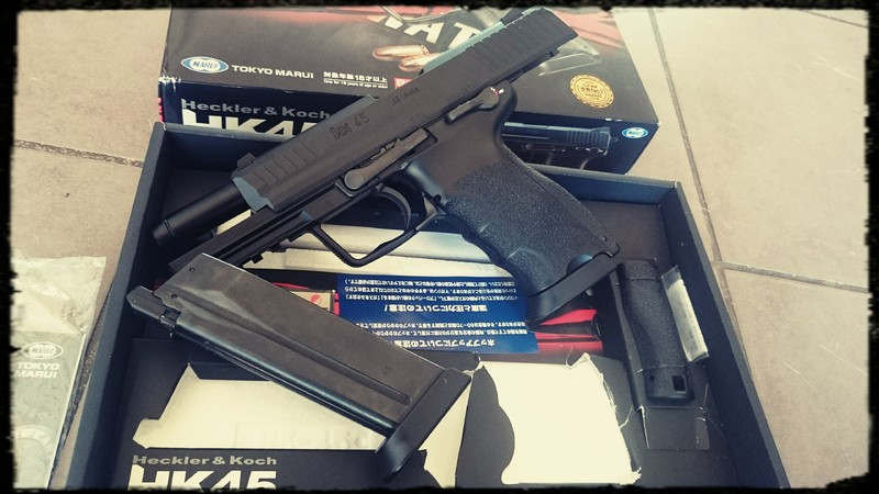 [Vente] Hk45 Tokyo Marui, Neuf 2 Chargeurs ! Photos In ^^ 20160715_125543