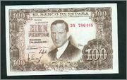 100 Pesetas, 1953 (Pareja Para los amantes de las últimas Series 3X ) Scan_161270013