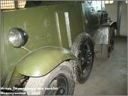 Советский средний бронеавтомобиль БА-3, Танковый музей, Кубинка 6_004