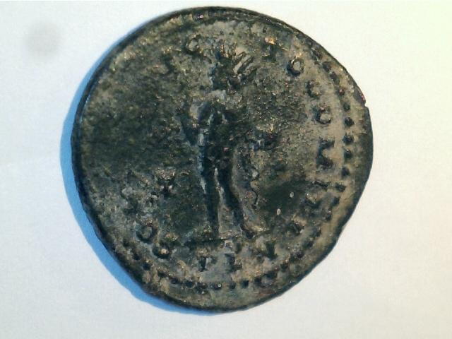 AE2 de Constantino I Magno. SOLI INVIC—TO COMITI. Ceca Londinium. 4_52gr
