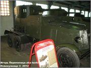 Советский средний бронеавтомобиль БА-3, Танковый музей, Кубинка 6_006