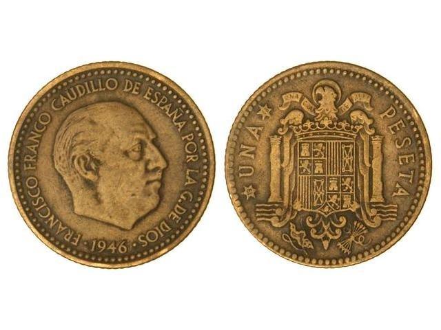 peseta del 1946 Image