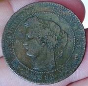 10 Centimes 1893 R.Francesa 10_Centimes_1893_R_Francesa_2