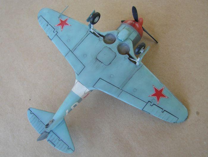 Lavočkin La-5FN, KP, 1/72 i Zvezda rebuild, 1/72 DSC01988