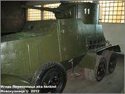 Советский средний бронеавтомобиль БА-3, Танковый музей, Кубинка 6_016