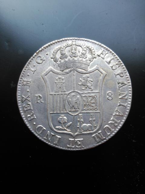 8 reales 1809. Jose Napoleón. Madrid Image