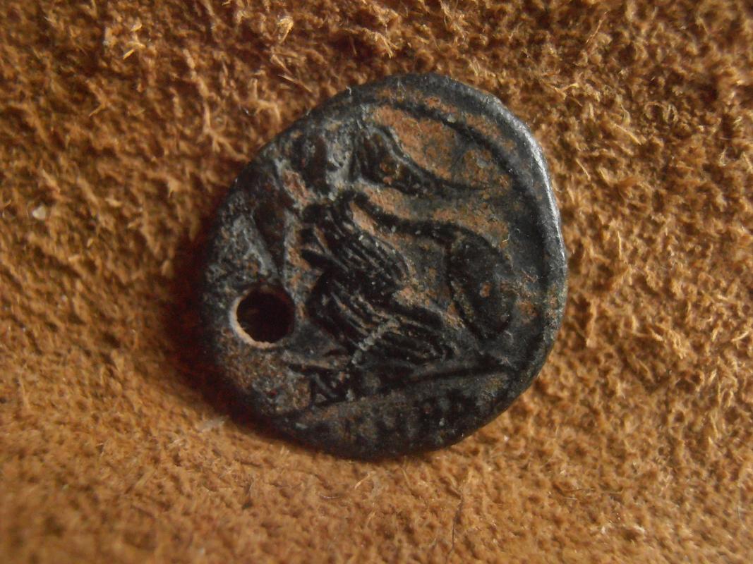 AE3 conmemorativa de Constantinopolis. Victoria estante a izq. sobre proa. Heraclea. P5270210