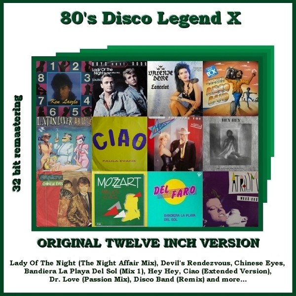 "VA-80""s Disco Legend Collection 1-11 Vol.X_Front"