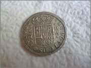 2 Reales Luis I. 1724. Ceca Madrid.  2_reales_Luis_I_1724_madrid_reverso