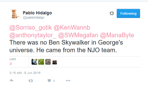 [ARCHIVE] SW Sequel Trilogy Tweets  - Page 3 Ben