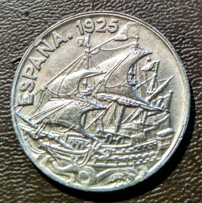 25 céntimos 1925 Alfonso XIII 25_1925_A