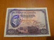 Duda Sobre Billete de 50 pesetas 1927 20180717_160432