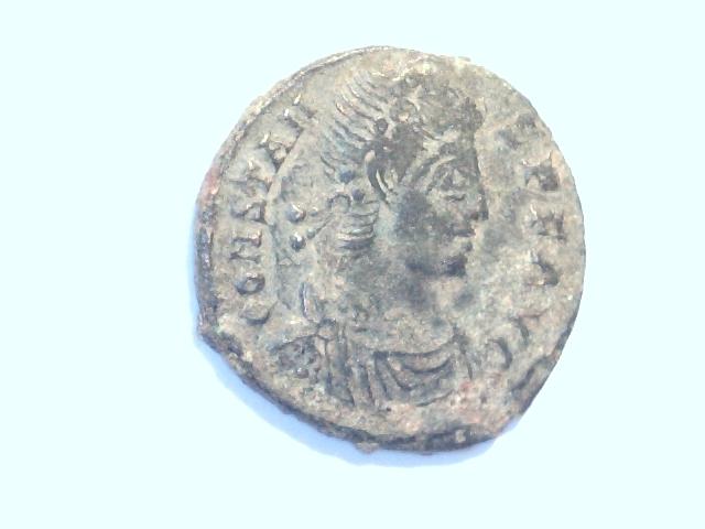 AE3 de Constans. VICTORIAE DD AVGGQ NN. Ceca Siscia. Image