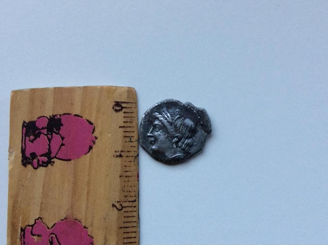 1/4 Shekel. CARTAGO 220-205 a.C. Zeugitania IMG_5024