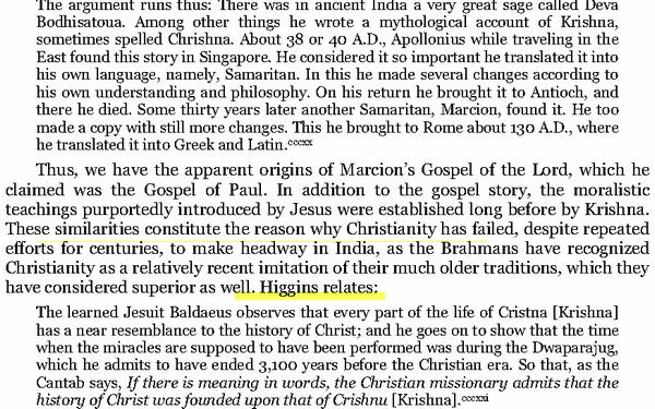 jésus et Krishna similitudes Image
