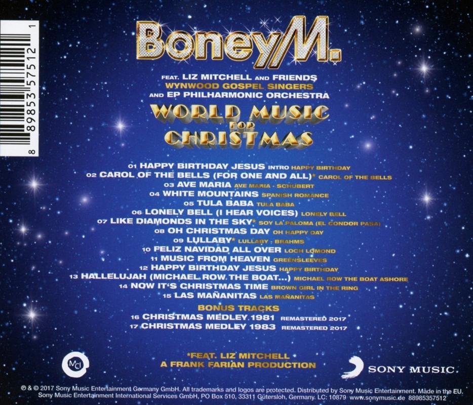 Boney M. - Worldmusic for Christmas Boney_1