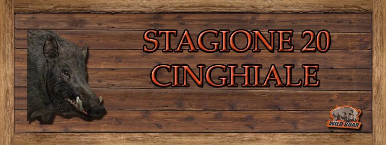 Cinghiale - ST. 20 CINGHIALE