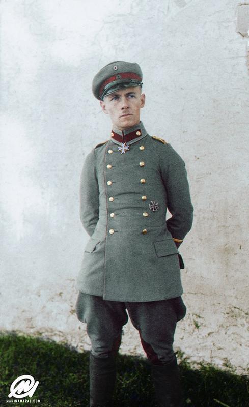 Fotos a color de la 1 guerra mundial Erwin_Rommel